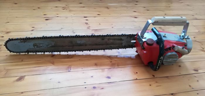 Evil Dead 2 Chainsaw (Finished) by xxBlomexx