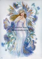 Cornflower-blue fairy by Fantasy-fairy-angel