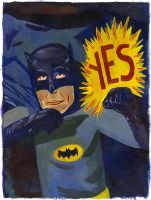 Yes Batman by Teagle