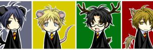 Harry Potter - Snuffles + Co. by kanae