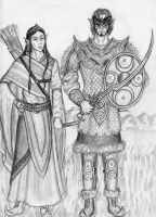 Thaerin's Grey Elves by Theophilia