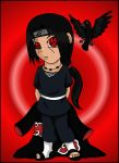 Itachi and Fluffy by pikabellechu
