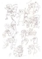 Rigby Doodles by M4DH4ttey266