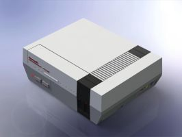 1:5 Scale Nintendo Entertainment System by DrOctoroc