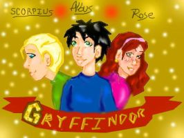 HP-DH- New Golden Trio by Gothicthundra