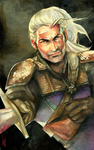 Geralt de Rivia-Witcher2 by EmegE
