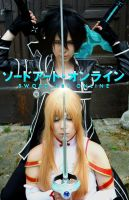 Sword Art Online Cosplay Cover Picture by K-I-M-I