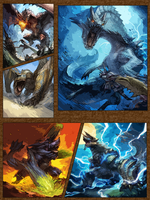 Roar of Cards Comic Page by HTM77