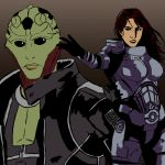 Thane and Shepard by Veni-Scripsi-Vici