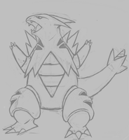 tyranitar WIP by Shark-Butt