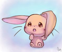Baby Bunny by Blooberry95