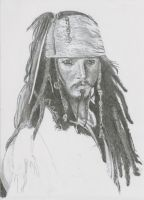 Jack Sparrow for Michelle WIP1 by TheSignmaker