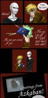 Wish You Were Here - HP Comic by LadyZolstice