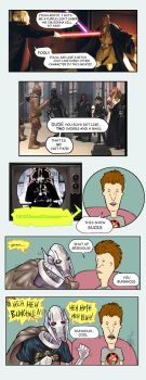 Grievous and Butthead by gunmouth