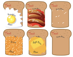 Toast Menu by Collette-Jane