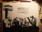 The Walking dead W.I.P by mmc1uk