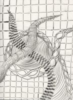 Zentangle 0001 by rgalexandervision