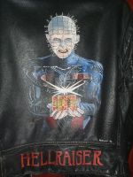 Hellraiser hand painted jacket by Ratsathome