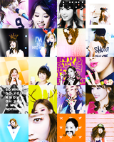 Taeyeon Icons by Kaleidoscopic-Dreams