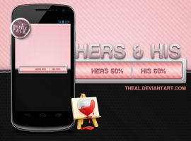 On the go: Hers and His by TheAL