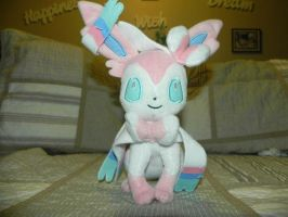 My Pokemon Plushie Collection - Sylveon by Megalomaniacaly