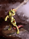 The Oncoming Storm by Maexis