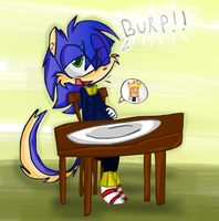 Speeda Eating Johnny Test by Fun-Time-Is-Party