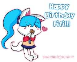 Happy Birthday Fifi :3 by Miss-Panettone
