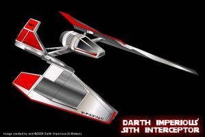Sith Interceptor by CyberWarlock