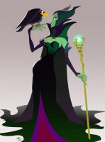 Maleficent by zPePhungz