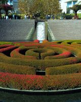 Getty Center Garden 2 by Humble-Novice
