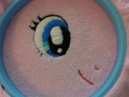 Pinkie Pie Eye by caashley
