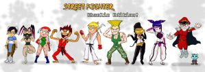 Street Fighter Chaolins by SamuraiJo1