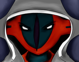 Deoxys by ShiningAster