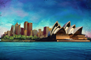 Book cover: Sydney Opera. by SteMega