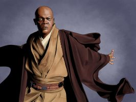 Mace Windu by the-araon