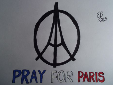 Pray For Paris by shnoogums5060