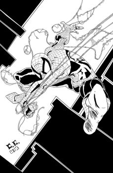 Drawing SpiderMan, Todd Mcfarlane Style by kid-supreme