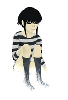 Tumblr drawing 2: Noodle by Exploding-Zombies