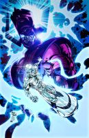 The Silver Surfer - Slave under Command by RobertoAGM