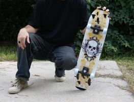 Skateboard Decal Design by WilsonGraphics