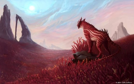 Red Planet by GuthrieArtwork