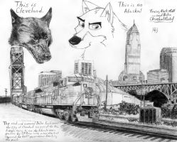 Cleveland Rocks...Balto by DragonWolfACe