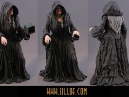 Dune: Reverend Mother Mohiam by sillof