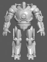 wip02 iron monger by D3r3x