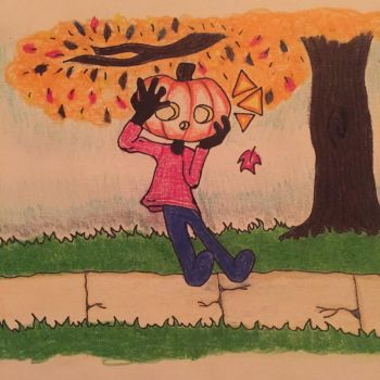 First Leaf of Fall by macyCAN