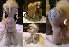 Derpy Hooves mini plush sold by Zombies8MyWaffle