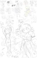 Sketch Dump # 1 - Science by Andgofortheroll-123