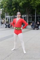 Plastic Man Standing Tall... by Stormfalcon
