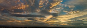 Thursday evening panorama by bimjo